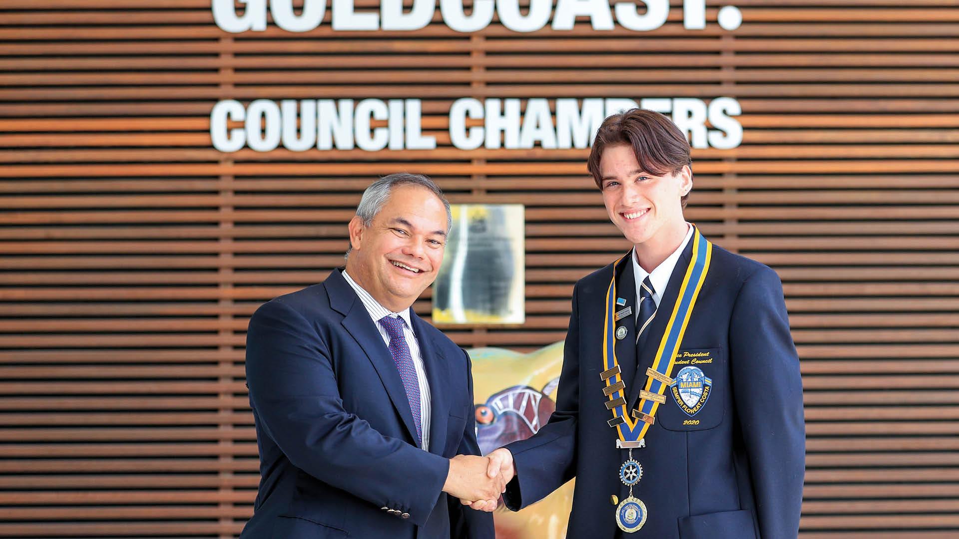 Gold Coast Interactor heads up Junior Council