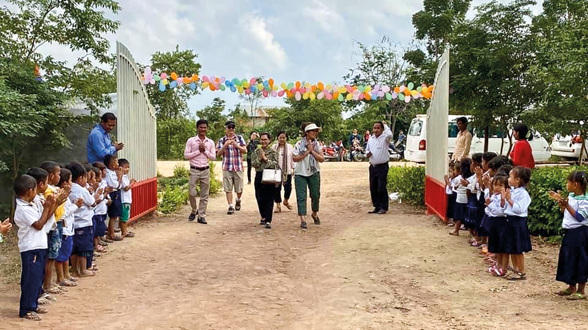 Changing lives in Cambodia