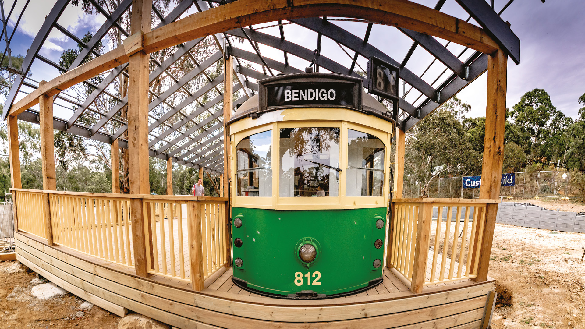 All aboard the Tram Cafe